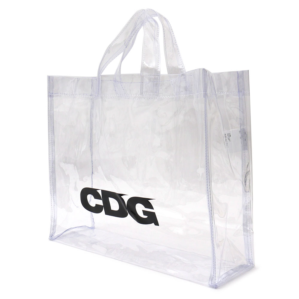 7beb63eab613 CDG シーディージー TRANSPARENT PVC TOTE BAG トートバッグ CLEAR 277002526010 【新品】 COMME  des GARCONS コムデギャルソン [CDG][PLAY][COMMEdesGARCONS][ハート ...