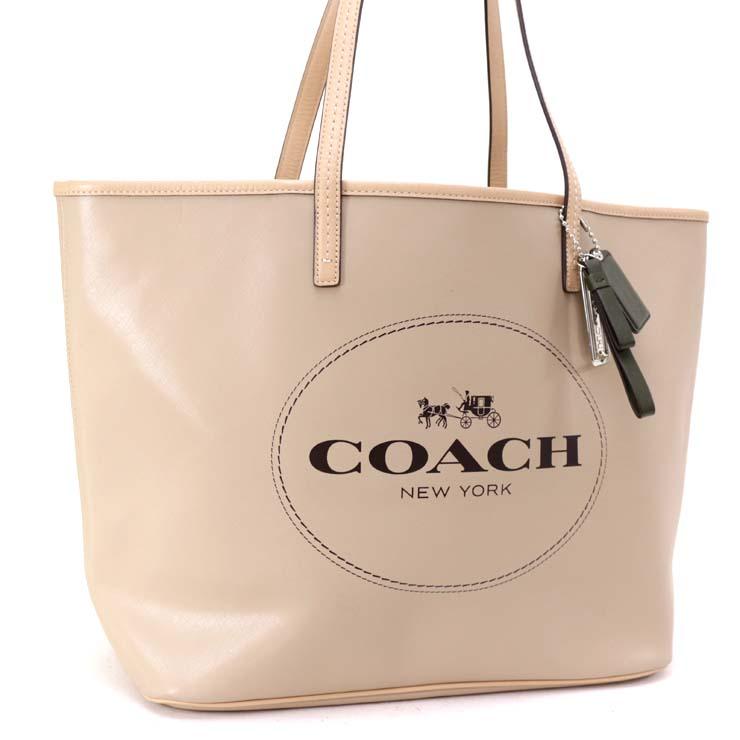 f6d6cfee6f80 【】コーチ トートバッグ レザー ベージュ F31315 COACH [送料無料] [送料無料][]ブランド 鞄 茶系 トート 通勤通学に最適なトート バッグです。