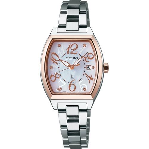 2aaa4d7a9724 SEIKO LUKIAセイコールキアソーラー LUKIA オンライン SSVN026:腕時計 ...
