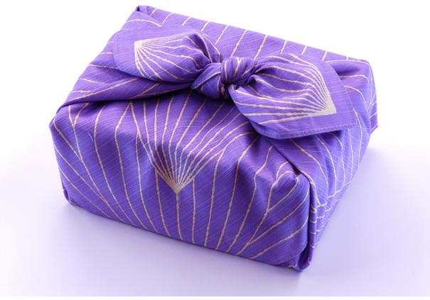 日式包装布莲花紫色 (70 厘米)