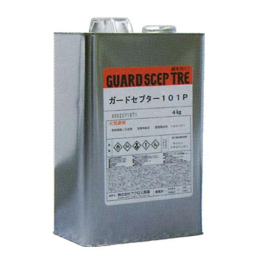 bcb454a0355d8 サムテック 強力防錆コート剤 ガードセプター101P 4kg 東亜オイル 優れた防錆効果 錆の上から直接塗れる