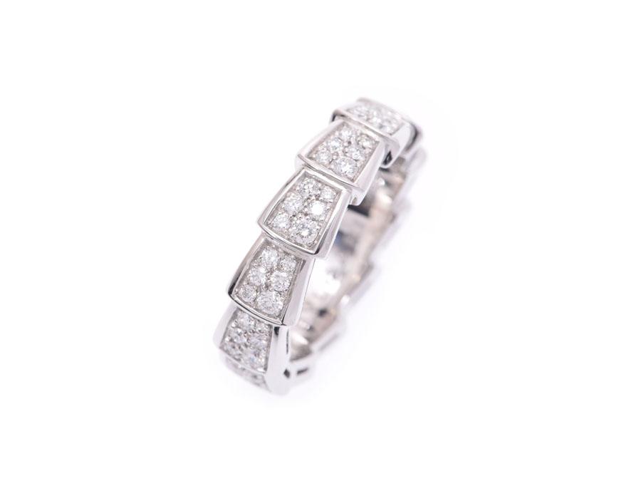 dc05d47c7c15 イタリア語で蛇を意味する『セルペンティ』 その名の通り指にぐるりと蛇が巻きつくようなデザインが印象的なラインです。 こちらは全面にダイヤをあしらった  ...