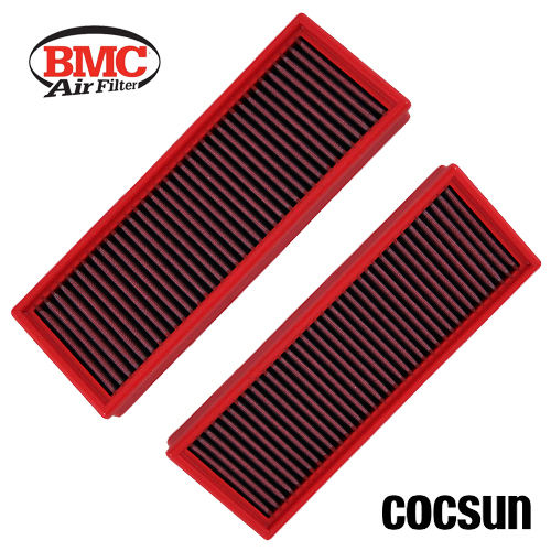 """RED 3.5 Inches 3.5/"""" 89mm Inlet Air Intake Cone Long TRUCK FILTER For Mitsubishi"""