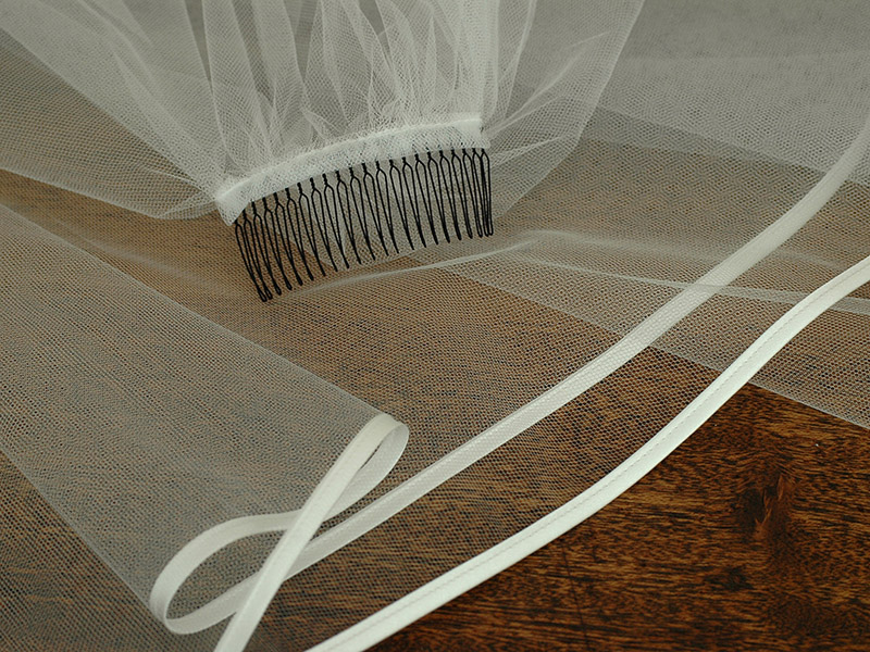 也制造敷设管道婚礼面纱长型250cm素材,并且一切作为日本制造的[y01]