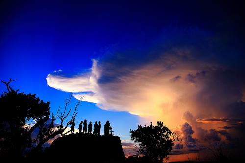 风景照片 / 明信片, 天空, 云彩, 明星 /-/ 飞机 / 鲜花 / 风景天空
