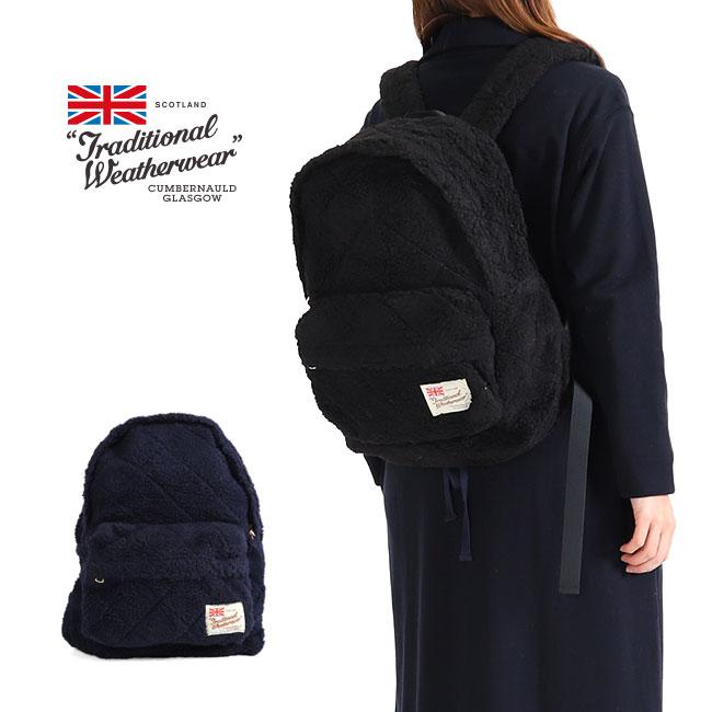 a16602917cbf TraditionalWeatherwearトラディショナルウェザーウェアボアフリースデイバッグA182APGGO0014Fバックパックリュック  TraditionalWeatherwear ...