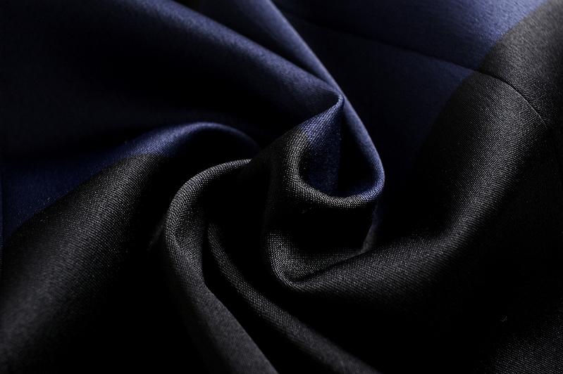 连衣裙邀请连衣裙女士黑黑色深蓝上课参观保育参观同学聚会膝长喇叭形
