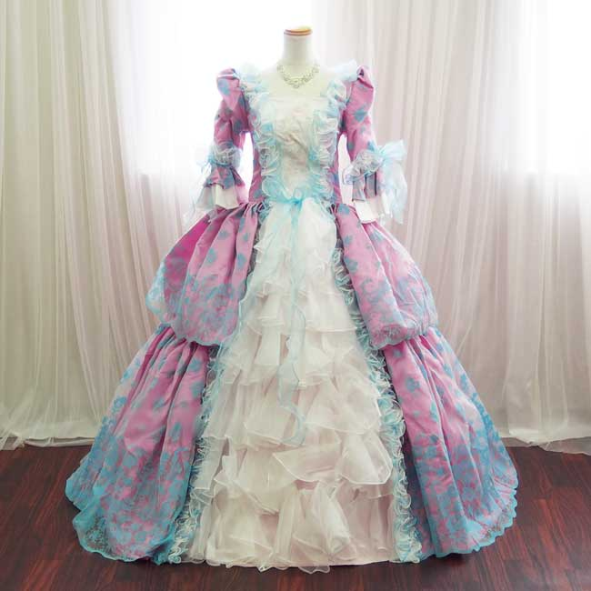 c67545b191870 ... たプリンセスラインのお姫様ドレス。 4段パニエで豪華にスカートが広がり、ふんわり可愛いカラードレスです。 演劇やオペラなど舞台衣装 ステージ衣装はもちろん、  ...