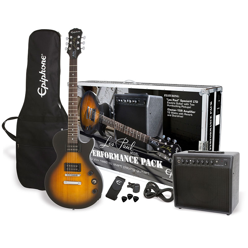 epiphone les paul special ii player pack ebony № 277377
