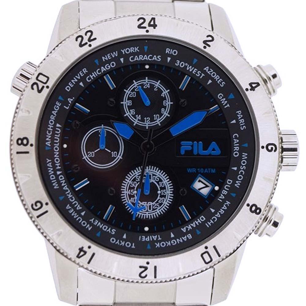 b46836142305 FILA フィラ クォーツ 腕時計 海外輸入時計 イタリア ファッション [38-007-004] 並行輸入品 純正ケース メーカー保証  メンズウォッチ イタリア デザイン 海外 輸入 ...