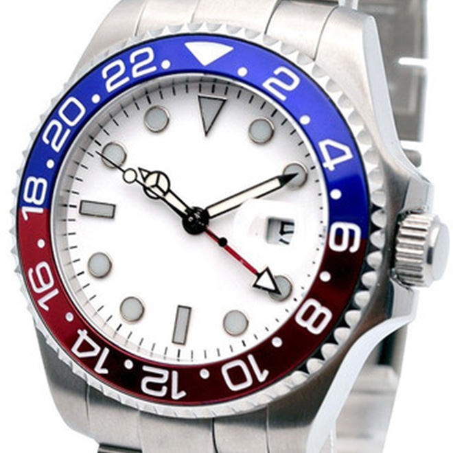 674abb19d9 【残り1点】NOLOGO ノーロゴ 自動巻き 腕時計 メンズ [NL-0175SW4AS] 並行輸入品 メーカー保証24ヶ月 メンズウォッチ おしゃれ  腕時計/ベゼル/GMT ワールドタイム ...