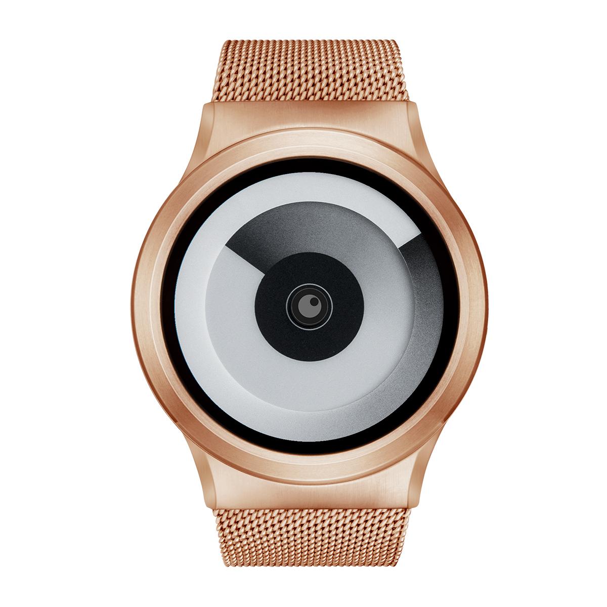 1886df9633 ZEROO SPIRAL GALAXY ゼロ 電池式クォーツ 腕時計 [W06016B05SM05] ホワイト デザインウォッチ ペア用 メンズ  レディース ユニセックス おしゃれ時計 デザイナーズ ...
