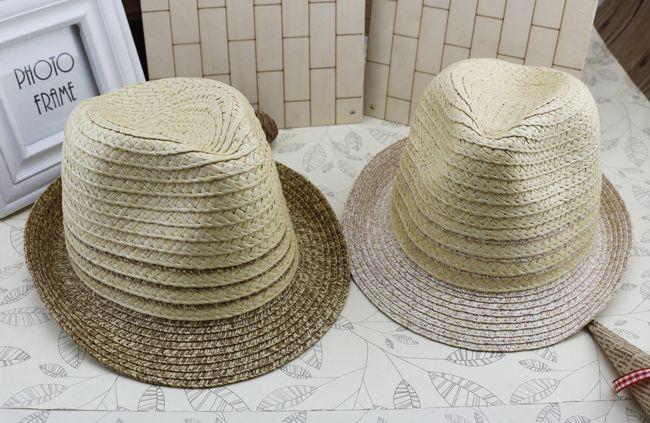 秸秆的帽子草帽儿童帽子夏季儿童帽子夏季儿童帽子落儿童帽子夏天爱上