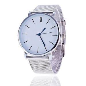 c3b923233c 【送料無料】腕時計 ウォッチシルバーステンレススチールクオーツカジュアルメタルウォッチsilver casual quartz watch women  metal stainless steel dress watches ...