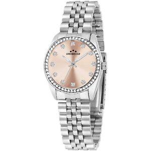 aacfa5fbd4 【送料無料】腕時計 ウォッチ ドーナローザウォッチorologio chronostar luxury donna r3753241516 watch  acciaio rosa zirconi