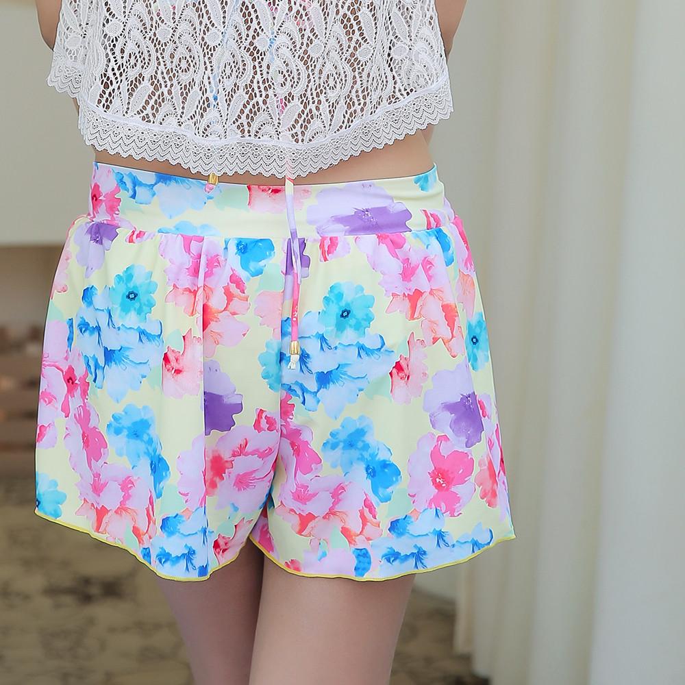 女子的海滩s/m/l短裤比赛产品招聘倾向泳衣分离mizugi体验师花纹情趣用品邮购图片