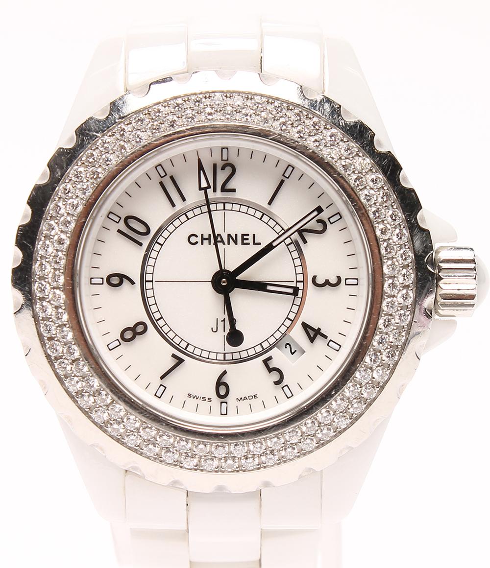 e20da064acfd シャネル 腕時計 J12 ホワイトセラミック H0967 クオーツ CHANEL レディース 【】 10%OFF 送料無料 sale【0410】hs