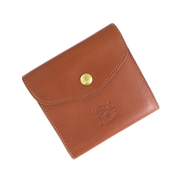 df60428deb9e 二つ折り財布 イルビゾンテ ILBISONTE メンズ レディース 雑貨 プレゼント ギフト ブラウン Cognac ナチュラルレザー ハンドメイド  オシャレ ブランド