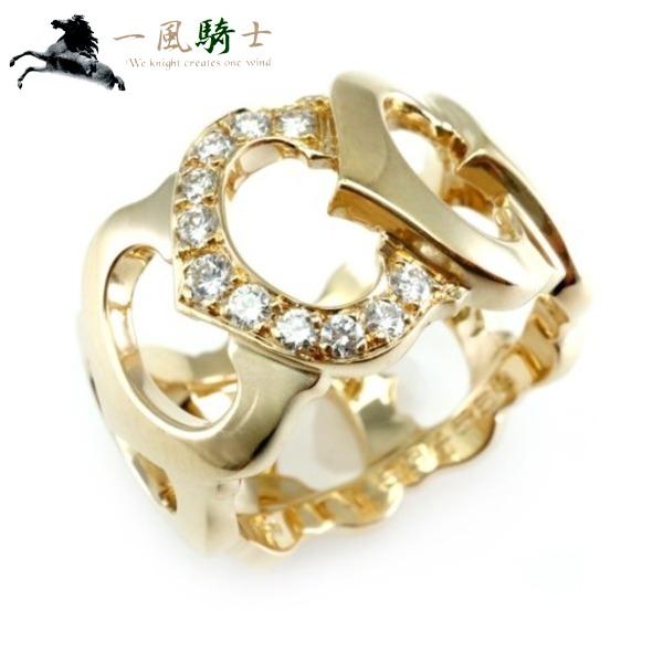 3fe2648d5b71 ... CARTIER | カルティエ | C | ドゥ | リング | K18YG×ダイヤモンド | ·52cartier | イエローゴールド |  750 | 12号 | 指輪 | アクセサリー | ブランドジュエリー