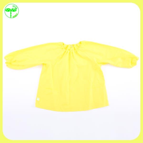 小学幼稚园苗圃花园幼稚园儿童流行工作服烟雾艺术围裙工作防寒教训 0