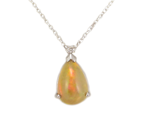 ALARRI 1.4 Carat 14K Solid Gold Hearts Necklace Natural Garnet Citrine with 24 Inch Chain Length