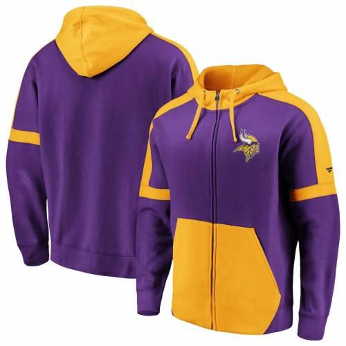New Black Minnesota Vikings Fanatics Men/'s NFL Cutsew T-Shirt