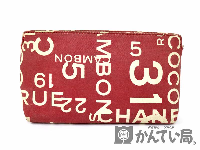 differently 7e3da 8e0ac CHANEL 【シャネル】 ポーチ バイシー レッド系 ポーチ 化粧品 ...