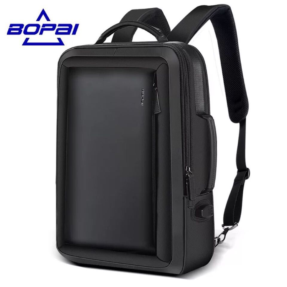 6fd14f6cebb6 ... 財布 | 革 本牛革 レザー オイルレザー | ビジネスリュック メンズ 3WAY ビジネスバッグ 20L 鞄 PCバック 大容量 男性 通勤  出張 リュックサック 革 フォーマル
