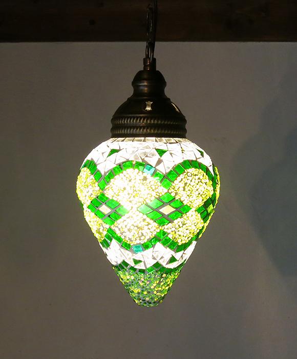绿色的马赛克灯草莓 * 土耳其灯 * 吊坠 * 存储 * 东方灯商店照明