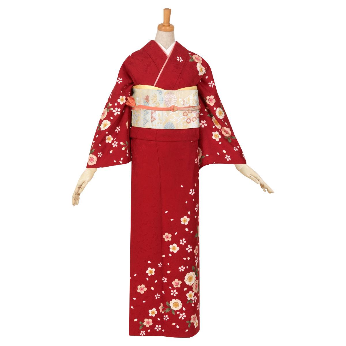 樱花和服简笔画