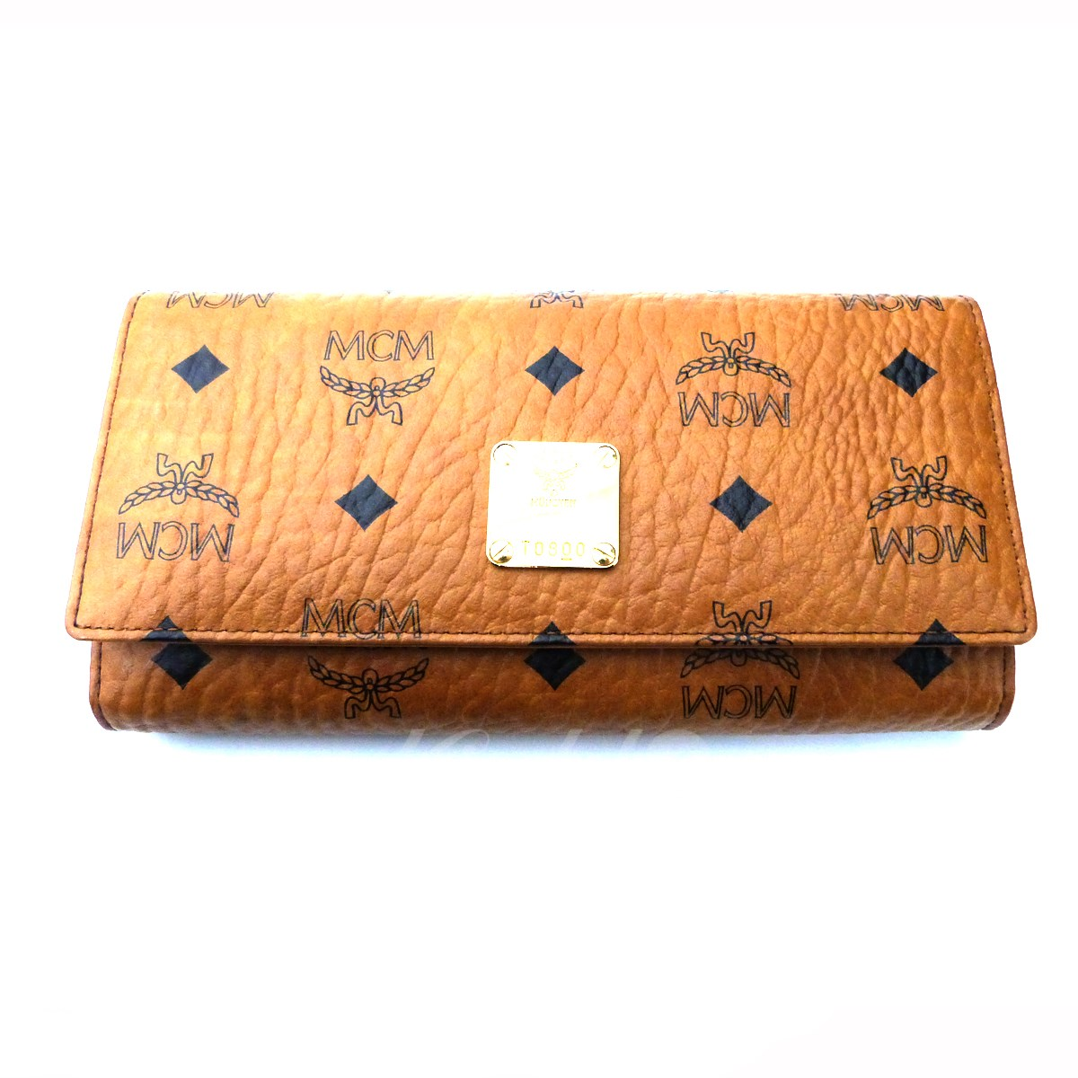 84a5947fd5be 2月28日 お値段見直しました】【】MCM「FLAP WALLET/TRI-FOLD ...