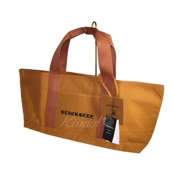 d7679621ec6d ... カバー | Engineered Garments | stickseek | CANVAS TOTE/キャンバストートバッグ ライトブラウン  サイズ:- | 送料無料 | 030219 | (スティックシーク)