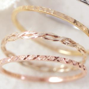 环�z(����K��K�_叮铃铃女士 k10 细环戒指女士粉红色白色黄金戒指拉多超奢华小指细环
