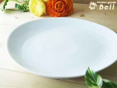 5cm盘子l白色的餐具西式餐具/椭圆盘子/晚餐盘子/咖啡厅餐具/派对盘子
