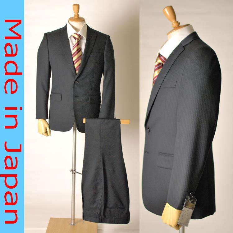 af8dfc626fe29 日本製 ブラックスーツ 秋冬用ビジネススーツ:2B×1:RM191 タキシード ...