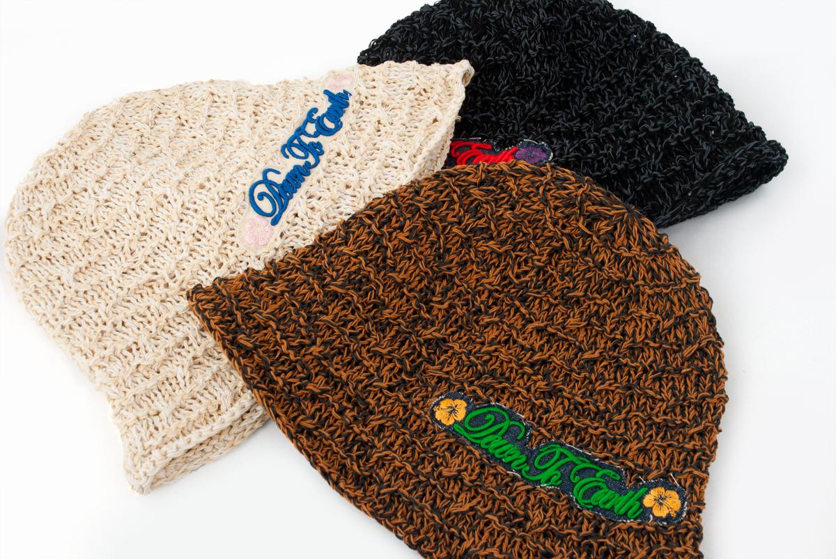 棉布手工编织编织物帽子