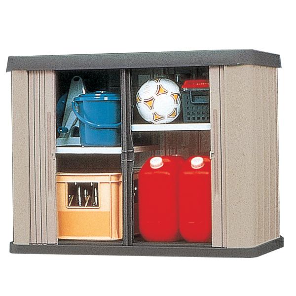 1424af8811 屋外収納 ロッカー 健康食品 ホームロッカーワイド 特茶 HL-1200W ...