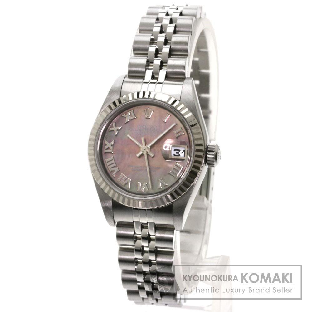 3bf81700faac ロレックス 79174NR デイトジャスト 腕時計 OH済 ステンレス/SS レディース 【】 【ROLEX】 ROLEX ロレックス 79174NR  デイトジャスト 腕時計