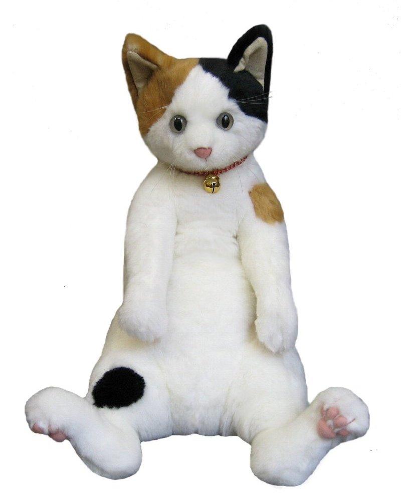 猫 ふわふわ ぬいぐるみ