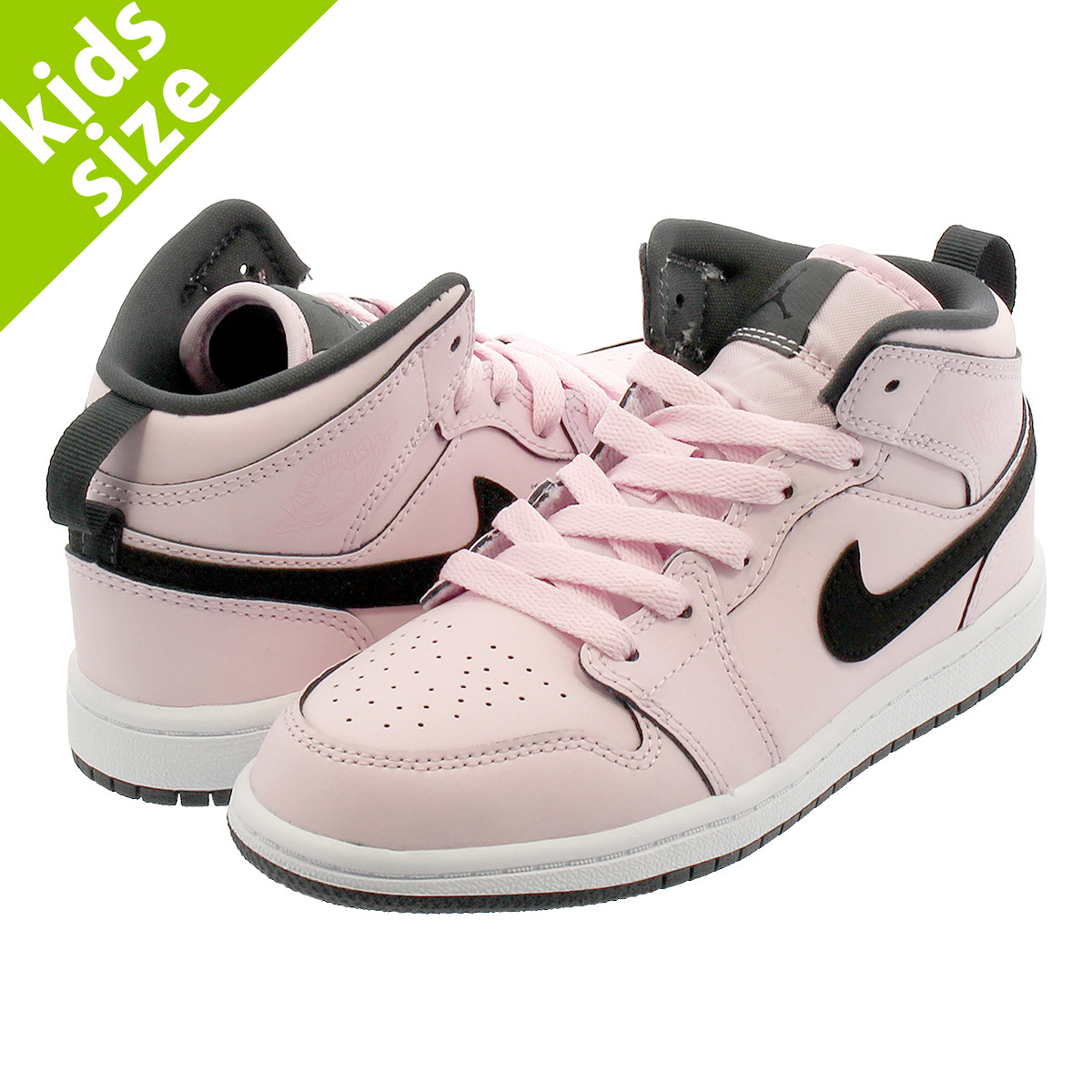 a23bbb821038b7  キッズサイズ  16-22cm  NIKE AIR JORDAN 1 MID PS ナイキ エア ジョーダン 1 ミッド PS PINK  FOAM BLACK WHITE ANTHRACITE 640737-601  即日発送  NIKE ...