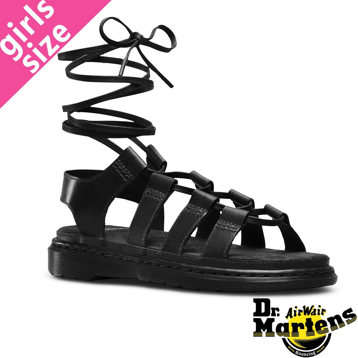 7ec341292ff ... クリスティーナ ギリー サンダル BLACK:LOWTEX ビッグ・スモール店 送料無料  Dr.Martensドクターマーチン レディース  靴 サンダル ブラック 黒 24140001