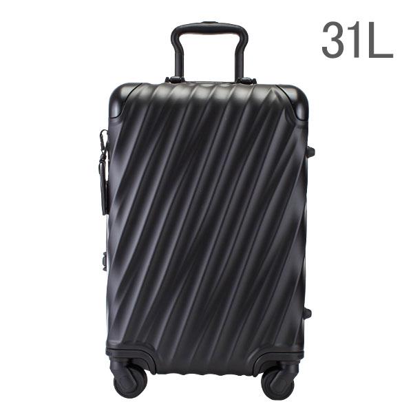 34301ca01e ... 送料無料]トゥミ TUMI スーツケース 31L 4輪 19 Degree Aluminum インターナショナル | キャリーオン  036860MD2 マットブラック キャリーケース キャリーバッグ