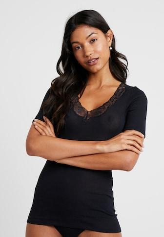 Top Hanro Damen Balance Long Sleeve Shirt Pyjama-Oberteil