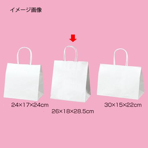 【ケース販売】 白無地 M-1 【シモジマ】 200枚入 #006442100 広口チャームバッグ