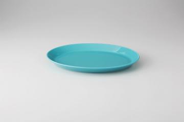 まとめ買い10個セット品】 食器 専門 ターコイズブルー 27cm