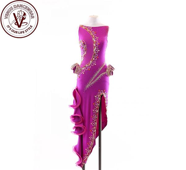 ba0b1993d33ef 商 品 詳 細   単位:CM  カテゴリーラテンドレス ブランド ヴィーナスダンスウェア(VENUS DANCEWEAR) 素材   トップス素材ポリウレタン