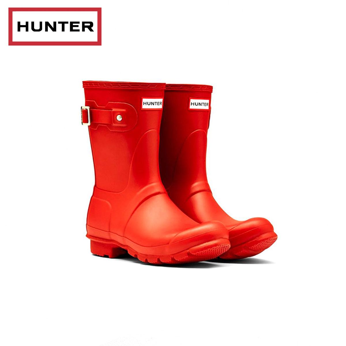 Hunter Original Short Red Womens Boots