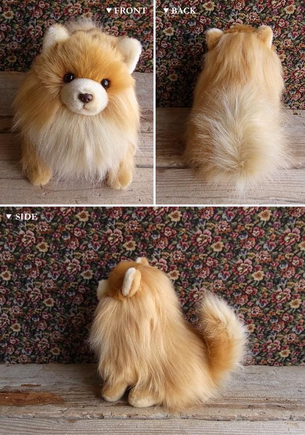 狗毛绒的动物真实