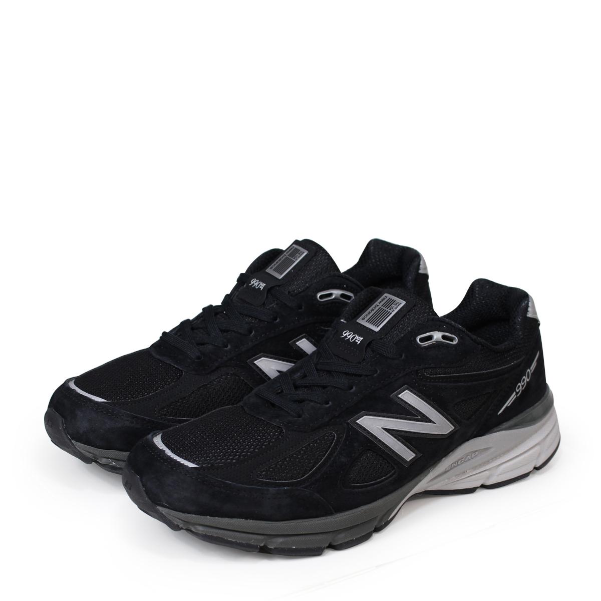 29618da494385 newbalance990メンズニューバランススニーカーM990BK4DワイズMADEINUSA靴ブラック[7/19新入荷] ...