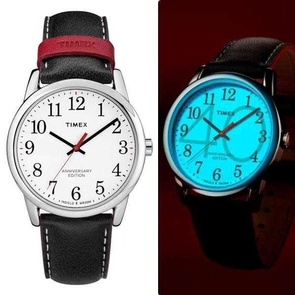 6e661cbda466 国内正規品タイメックス時計メンズレディース腕時計イージーリーダー40th記念モデル38mmブラックレザー ...